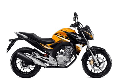 moto naked - cb twister abs