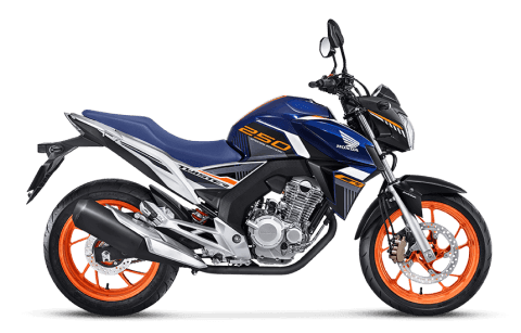 moto naked - cb twister abs special edition